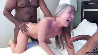 Онлайн видео межрасовое порно